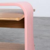 Table Basse Rectangulaire en MDF (134x60 cm) Tika, image miniature 5