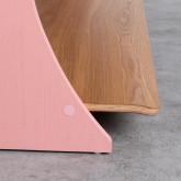 Table Basse Rectangulaire en MDF (134x60 cm) Tika, image miniature 7