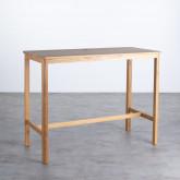 Table Haute en Bois (140x65,5 cm) Roxet, image miniature 1