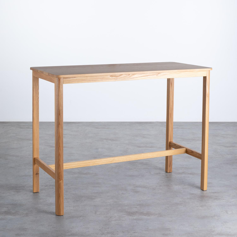 Table Haute en Bois (140x65,5 cm) Roxet, image de la gelerie 1
