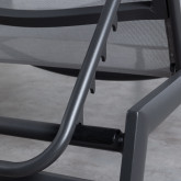 Transat Inclinable en Tissu et Aluminium Miko , image miniature 8