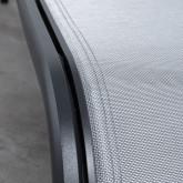 Transat Inclinable en Tissu et Aluminium Miko , image miniature 9