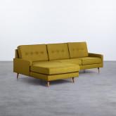 Canapé d'angle à Gauche 4 Places en Tissu Abuba, image miniature 1
