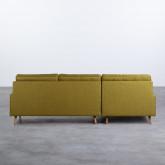 Canapé d'angle à Gauche 4 Places en Tissu Abuba, image miniature 3