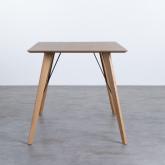 Table Rectangulaire de Salle à manger en Chêne MDF (120x80 cm) Berg, image miniature 2