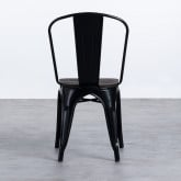 Chaise INDUSTRIAL - Powdercoating Black -, image miniature 3