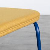Chaise de Salle à manger en Tissu et Acier Plazzo, image miniature 8