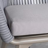 Chaise d'Extérieur en Aluminium et Corde Xile, image miniature 8