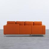 Canapé d'angle à Gauche 4 Places en Tissu Ynzha, image miniature 3