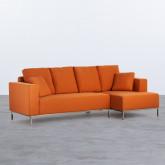 Canapé d'angle à Droite 4 Places en Tissu Ynzha., image miniature 1