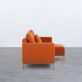 Canapé d'angle à Droite 4 Places en Tissu Ynzha., image miniature 3