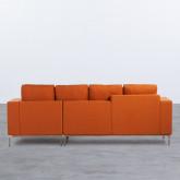 Canapé d'angle à Droite 4 Places en Tissu Ynzha., image miniature 4