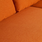 Canapé d'angle à Droite 4 Places en Tissu Ynzha., image miniature 6