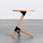 Table d'Appoint Ronde en Bois (Ø40 cm) Kalvan, image miniature 3