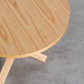 Table d'Appoint Ronde en Bois (Ø40 cm) Kalvan, image miniature 4