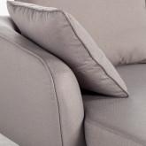 Canapé d'angle à Droite 4 Places en Tissu Rhemet, image miniature 4