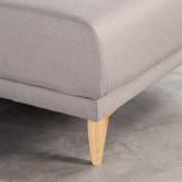 Canapé d'angle à Droite 4 Places en Tissu Rhemet, image miniature 5
