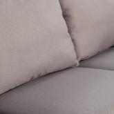 Canapé d'angle à Droite 4 Places en Tissu Rhemet, image miniature 6