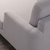 Canapé d'angle à Gauche 3 Places en Tissu Jhollis, image miniature 5