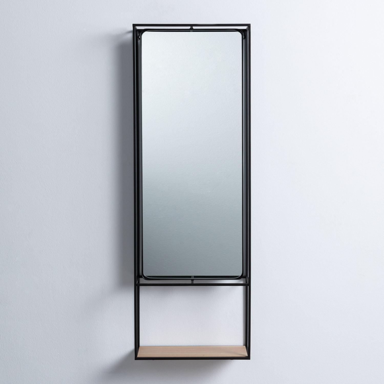 Miroir Mural Rectangulaire en Métal (115x40 cm) Stella, image de la gelerie 1