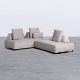 Canapé d'angle à Droite 4 Places en Tissu Vogle, image miniature 3