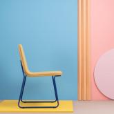 Chaise de Salle à manger en Tissu et Acier Plazzo, image miniature 2