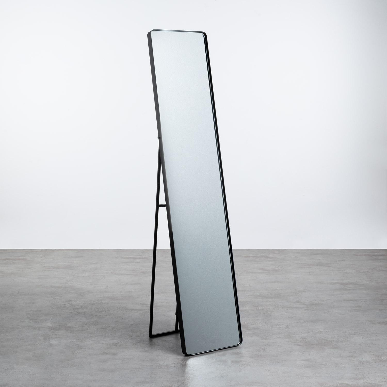 Miroir sur Pied Rectangulaire en Métal (170x36 cm) Jumna, image de la gelerie 1