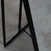 Miroir sur Pied Rectangulaire en Métal (170x36 cm) Jumna, image miniature 6