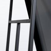 Miroir sur Pied Rectangulaire en Métal (170x36 cm) Jumna, image miniature 7