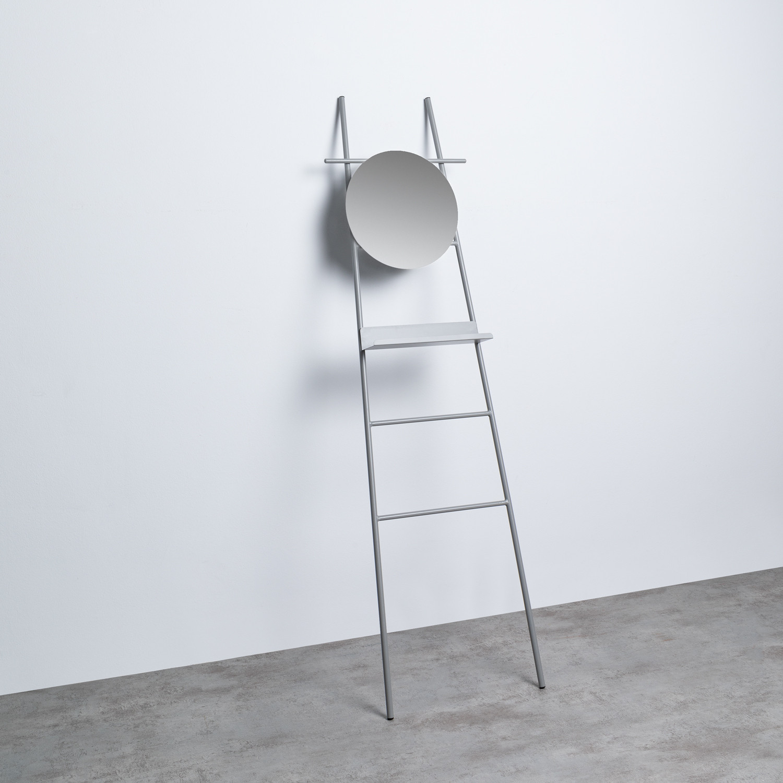 Escalier Décoratif avec Miroir en Métal (161 cm) Neo, image de la gelerie 1