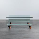 Table Basse Carrée en Verre (100x100 cm) Rolcris, image miniature 3