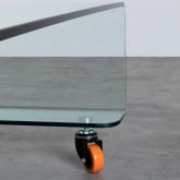 Table Basse Carrée en Verre (100x100 cm) Rolcris, image miniature 5