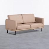 Canapé 2 Places en similicuir Descui, image miniature 1
