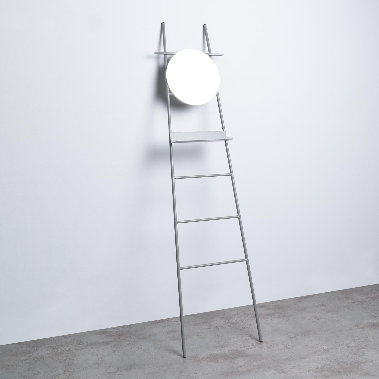 Escalier Décoratif avec Miroir en Métal (181 cm) Neo, image de la gelerie 1