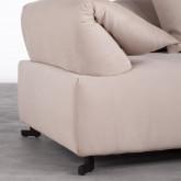 Canapé d'angle à Droite Modulaire en Tissu Cinda, image miniature 5