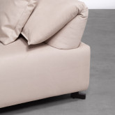 Canapé d'angle à Gauche Modulaire en Tissu Cinda, image miniature 5
