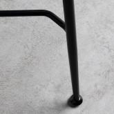 Tabouret Bas en Similicuir Glis (58 cm), image miniature 5