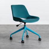 Chaise de Bureau à Roulettes et Réglable Silas, image miniature 1