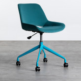 Chaise de Bureau à Roulettes et Réglable Silas, image miniature 3