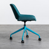 Chaise de Bureau à Roulettes et Réglable Silas, image miniature 4