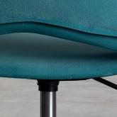 Chaise de Bureau à Roulettes et Réglable Silas, image miniature 7