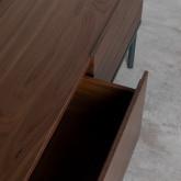 Table Basse Carrée en MDF et Métal (100x100 cm) Kaste, image miniature 10