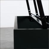 Table Basse Carrée en MDF et Métal (100x100 cm) Kaste, image miniature 11
