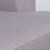 Canapé d'angle à Gauche 4 Places en Tissu Belka, image miniature 6
