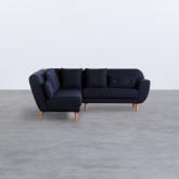 Canapé d'Angle en Tissu Alfh, image miniature 2