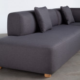 Canapé-d'angle à Droite 3 Places en Tissu Inghot , image miniature 4