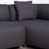Canapé-d'angle à Droite 3 Places en Tissu Inghot , image miniature 5