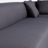 Canapé-d'angle à Droite 3 Places en Tissu Inghot , image miniature 6