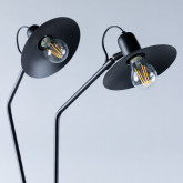 Lampadaire avec lumière LED en Métal Areu, image miniature 3