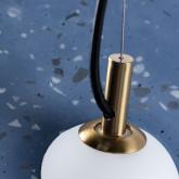 Suspension LED en Terrazzo Drómeda, image miniature 8